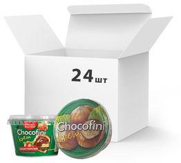 Акция на Упаковка пасты шоколадно-ореховой Chocofini Krem 24 шт х 200 г (881646) от Rozetka