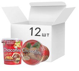 Упаковка пасты Chocofini Krem с шоколадно-арахисовым вкусом 12 шт х 400 г (881648) от Rozetka