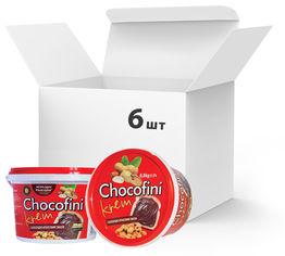 Упаковка пасты шоколадно-арахисовой Chocofini Krem 6 шт х 800 г (881652) от Rozetka