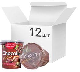 Упаковка пасты Chocofini Krem с шоколадным вкусом 12 шт х 400 г (881647) от Rozetka
