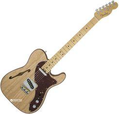 Электрогитара Fender American Elite Telecaster Thinline MN (222988) Natural от Rozetka