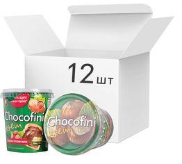 Упаковка пасты Chocofini Krem с шоколадно-ореховым вкусом 12 шт х 400 г (881649) от Rozetka