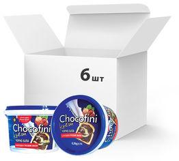 Упаковка пасты шоколадно-ореховой Chocofini Krem Черно-белой 6 шт х 800 г (881650) от Rozetka