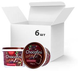 Упаковка пасты шоколадной Chocofini Krem 6 шт х 800 г (881653) от Rozetka