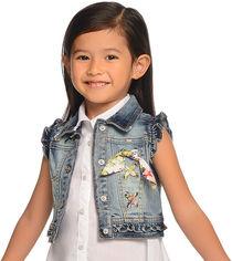 Акция на Жилет Mayoral Mini Girl 3304-24 4A Светло-джинсовый (2903304024049) от Rozetka