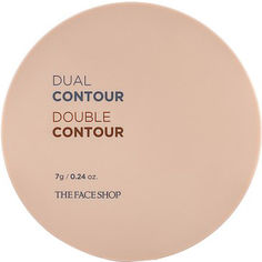 Акция на Палетка для контуринга The Face Shop Dual Contour 02 Natural 7 г (8806182557385/8806182578748) от Rozetka