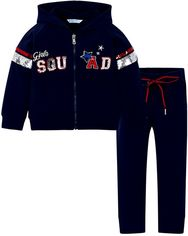 Акция на Спортивный костюм Mayoral Mini Girl 3808-74 3A Синий (2903808074038) от Rozetka