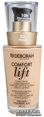 Тональная основа Deborah Comfort Lift вельветовая 03 Sand (8009518122626) от Rozetka