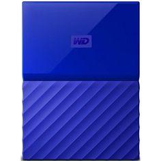 Жесткий диск WD USB3.0 1TB My Passport Blue (WDBYNN0010BBL-WESN) от MOYO