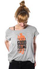 Акция на Футболка женская Good Loot Star Wars Good Feeling L (5908305221111) от Rozetka