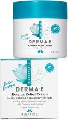 Акция на Крем для облегчения симптомов экземы Derma E Eczema Relief с экстрактами дерева ним, лопуха и толокнянки 113 г (030985087000) от Rozetka