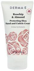 Акция на Защитный крем для рук и кутикул DermaE с экстрактом шиповника и маслом миндаля 56 г (030985070750) от Rozetka
