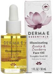 Средство для сияния кожи лица Derma E с маслами шиповника и клюквы 30 мл (030985014402) от Rozetka