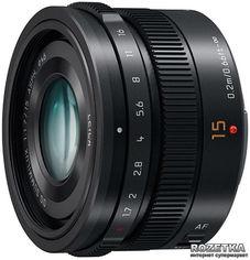Акция на Panasonic Micro 4/3 Lens 15mm Black (H-X015E-K) от Rozetka