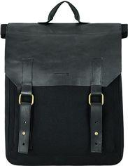 Акция на Рюкзак Exodus Leather Canvas R0503EX011 Черный (2900000218499) от Rozetka