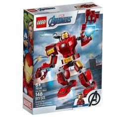 Акция на Конструктор LEGO Super Heroes Железный Человек: трасформер (76140 L) от MOYO