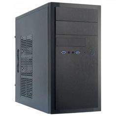 Корпус ПК CHIEFTEC HT-01B без БП 2xUSB3.0 mATX черный (HT-01B-OP) от MOYO