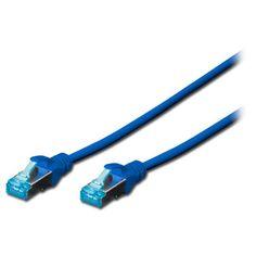 Акция на Патч-корд DIGITUS CAT 5e UTP,3м,AWG 26/7,синего цвета (DK-1511-030/B) от MOYO
