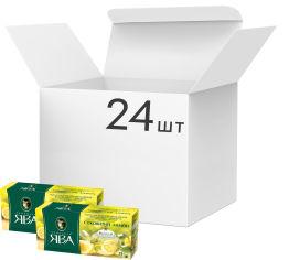 Упаковка чая зеленого пакетированного Принцесса Ява Лимон 24 шт по 25 пакетиков (4823096806181) от Rozetka