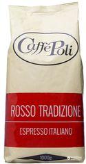 Акция на Кофе в зернах Caffe Poli Rosso Tradizione 1 кг (8019650000300) от Rozetka