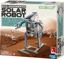 Набор для конструирования 4M Робот на солнечной батарее (00-03294) (4893156032942) от Rozetka