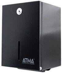 Держатель для туалетной бумаги ATMA D 402 черный от Rozetka