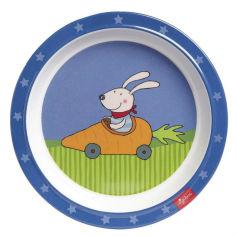 Акция на Тарелка десертная SIGIKID sigikid Racing Rabbit 21.5 см (24614SK) от Foxtrot