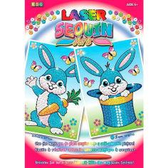 Акция на Набор для творчества SEQUIN ART LASER Rabbits SA1320 от Foxtrot