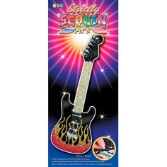 Акция на Набор для творчества SEQUIN ART STRICTLY Guitar (SA1408) от Foxtrot