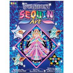 Акция на Набор для творчества SEQUIN ART STARDUST Fairy Princess (SA1011) от Foxtrot