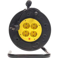Сетевой удлинитель на катушке POWERPLANT JY-2000/40 (PPRA08M400S4) от Foxtrot