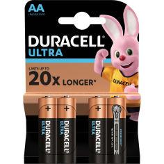 DURACELL LR06 KPD 04*20 Ultra уп. 1x4 шт. от Foxtrot