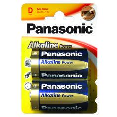 Батарейки PANASONIC LR20 Alkaline Power 1x2 шт. от Foxtrot