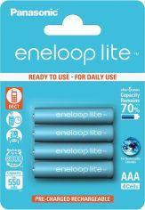 Аккумулятор PANASONIC Eneloop Lite AAA 550 mAh BK-4LCCE/4BE от Foxtrot