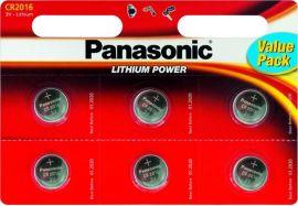 Батарейки PANASONIC CR2016 (CR-2016EL/6BP) от Foxtrot