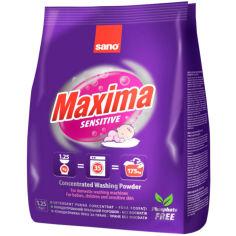 Стиральный порошок SANO Maxima Sensitive 1.25 кг (7290000295336) от Foxtrot