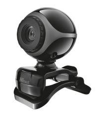 Акция на Веб-камера Trust EXIS 480p BLACK (17003_TRUST) от MOYO