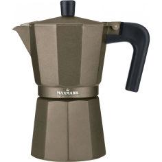 Акция на Гейзерная кофеварка MAXMARK 300 мл (MK-106BR) от Foxtrot