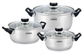 Набор кастрюль Rotex Bergamo из 6 предметов (RC011-6L Bergamo) от Rozetka