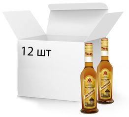Акция на Упаковка Бренди Тиса Закарпатський 4 года выдержки 40% 0.25 л x 12 шт (4820139280434) от Rozetka