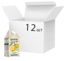 Акция на Упаковка сока Galicia Яблочный прямого отжима неосветленный 0.5 л х 12 шт (4820151001406_4820209560657) от Rozetka