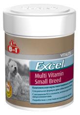 Мультивитаминный комплекс 8in1 Excel Multi Vitamin Small Breed для собак мелких пород таблетки 70 шт (4048422109372) от Rozetka