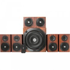 Акустическая система Trust Vigor 5.1 Surround Speaker System for pc Brown (21786) от Територія твоєї техніки
