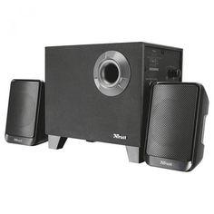 Акция на Акустична система Trust Evon Wireless 2.1 Speaker Set Black (21184) от Територія твоєї техніки