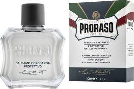 Защитный Бальзам после бритья Proraso с экстрактом алоэ и витамином Е 100 мл (8004395001460) от Rozetka