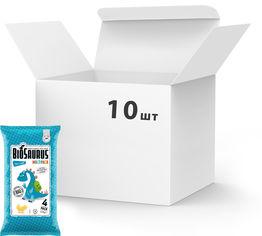 Упаковка снеков кукурузных McLloyd`s Динозаврики органических с морской солью 60 г х 10 шт (8588000526918) от Rozetka