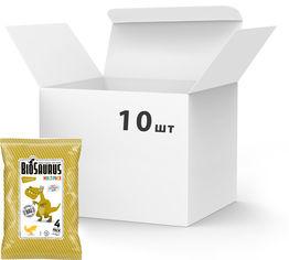 Упаковка снеков кукурузных McLloyd`s Динозаврики органических с сыром 60 г х 10 шт (8588000526956) от Rozetka
