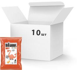 Упаковка снеков кукурузных McLloyd`s Динозаврики органических с кетчупом 60 г х 10 шт (8588000526932) от Rozetka