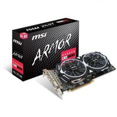 Видеокарта MSI Radeon RX 580 8GB DDR5 Armor (RX_580_ARMOR_8G) от MOYO