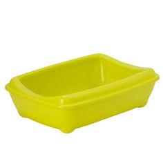 Туалет с бортиком Moderna Arist-o-Tray для котов 50х38х14 см C192329 Лимонный (5412087192083) от Rozetka